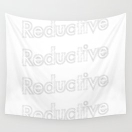 Reductive  Wall Tapestry