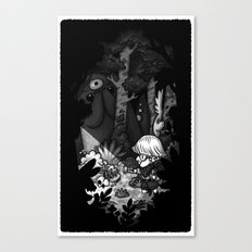 Hide and Seek Canvas Print