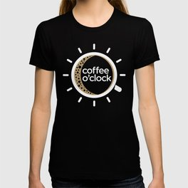 Coffee o'clock T-shirt