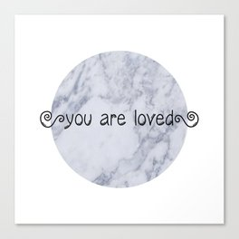 loved 2 Canvas Print