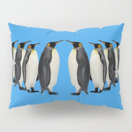 Penguins on Parade Pillow Sham