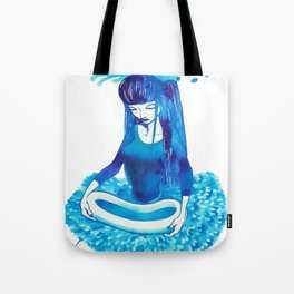 Baby Blue #4 Tote Bag