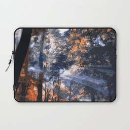 Into the Forest of Light Laptop Sleeve