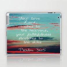 Your Love O Lord Laptop & iPad Skin