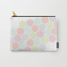 Pastel Buzz Carry-All Pouch