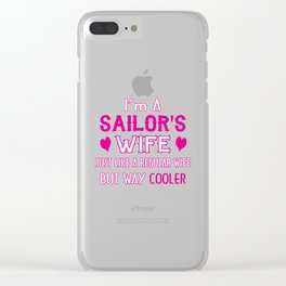 Sailor's Wife Clear iPhone Case