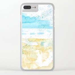 Morning Freshness Clear iPhone Case