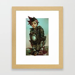 tracer 1900 Framed Art Print