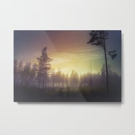 They told me you were here Metal Print
