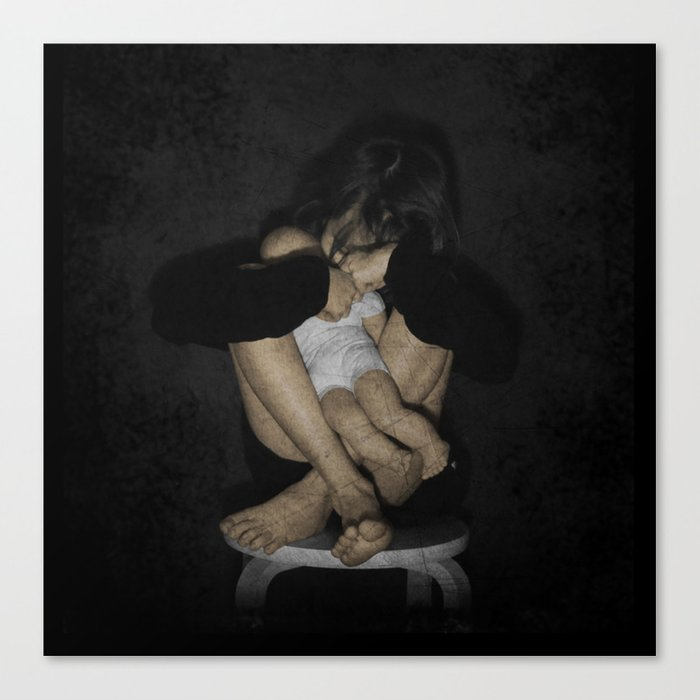 Unloved toy Canvas Print
