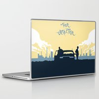 true detective Laptop & iPad Skins featuring True Detective by Carlos Asensi