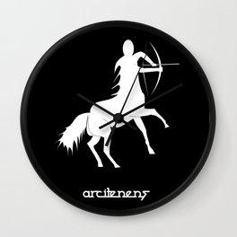 Sagittarius ~ Arcitenens ~ Zodiac series Wall Clock