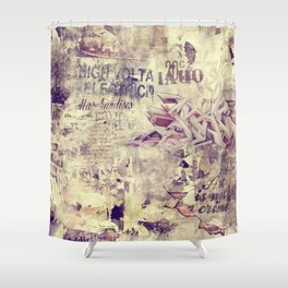 Voltage Shower Curtain