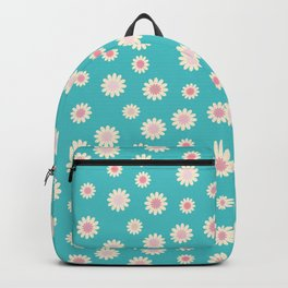 Daisies – Pink Backpack