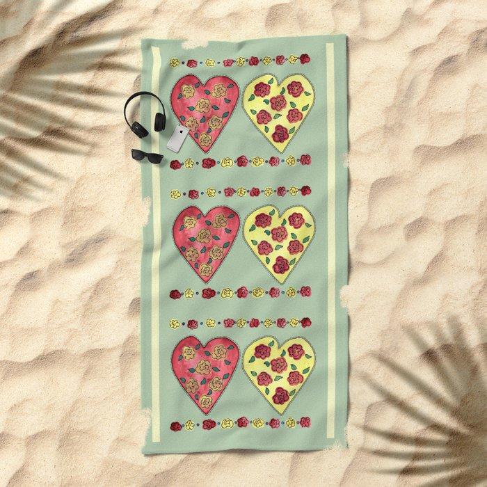 Summer Love Beach Towel
