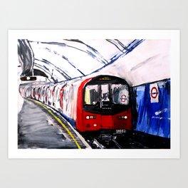 London Underground Northern Line Fine Art Art Print