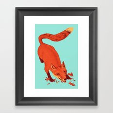 Fox Hunting  Framed Art Print