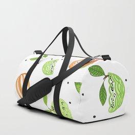 Papaya & Custard Apple Duffle Bag