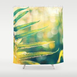 Flow of Energy Shower Curtain