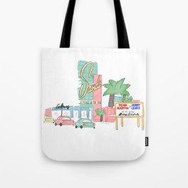 Las Vegas 1950 Tote Bag