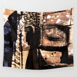 BAYON(4 faces) Wall Tapestry