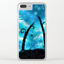 Spider's Enchanted Night Clear iPhone Case