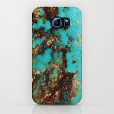 Turquoise I Slim Case Galaxy S6