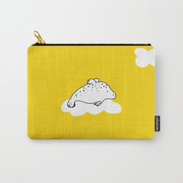 Flying Manatee by Amanda Jones Carry-All Pouch