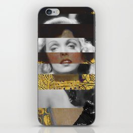 Klimt's Judith and the Head of Holofernes & Marlene iPhone Skin