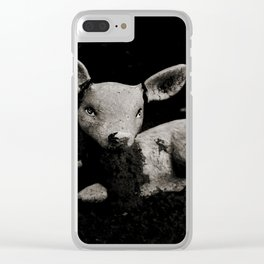Totems of Modern Society I Clear iPhone Case