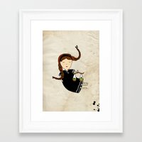 libra Framed Art Prints featuring Libra by Kristina Sabaite