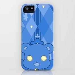 Monochromatic Kuma Kureha iPhone Case