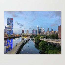 Philly blues Canvas Print