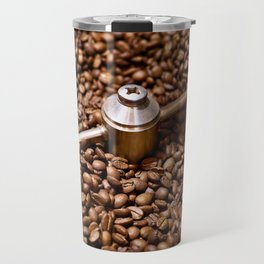 Freshly roasted coffee beans Travel Mug