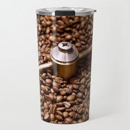 Freshly roasted coffee beans Travel Mug