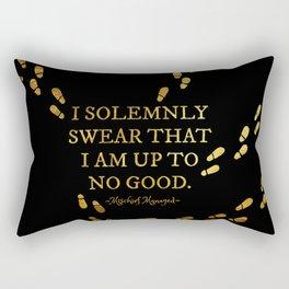 I Solemnly Swear Rectangular Pillow