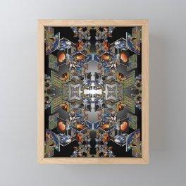 Framework: Fractal Journey Framed Mini Art Print