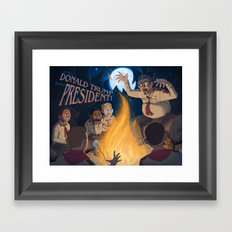 The Scariest Thing in the World Framed Art Print