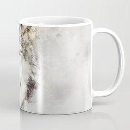 Watercolour wild grey wolf portrait Coffee Mug