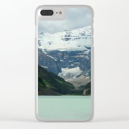Peaceful Lake Louise Clear iPhone Case