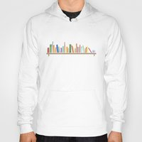 books Hoodies featuring Books by Becky Gibson