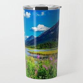 God's Country - Summer in Alaska Travel Mug