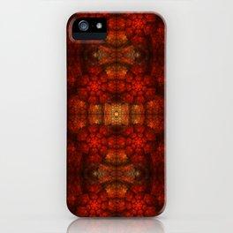 Fractal Art - Kaleidoscope Ammonite iPhone Case