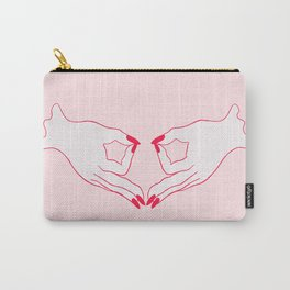 feminist gang sign Carry-All Pouch