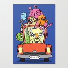Designated Driver Canvas Print