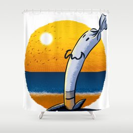 Roll Up The Moment Shower Curtain