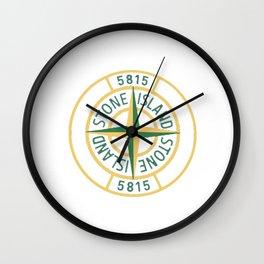 stone island logo Limitied Edition Wall Clock