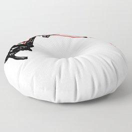 the Climber Floor Pillow