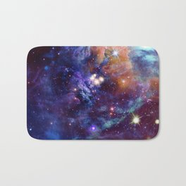 Bright nebula Bath Mat