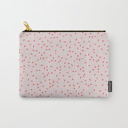 RED SPRINKLES Carry-All Pouch